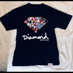 DiamondSupplyCo Men Logo Tee ShortSleeve Colorful